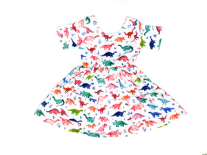 Dinosaur Twirl Dress