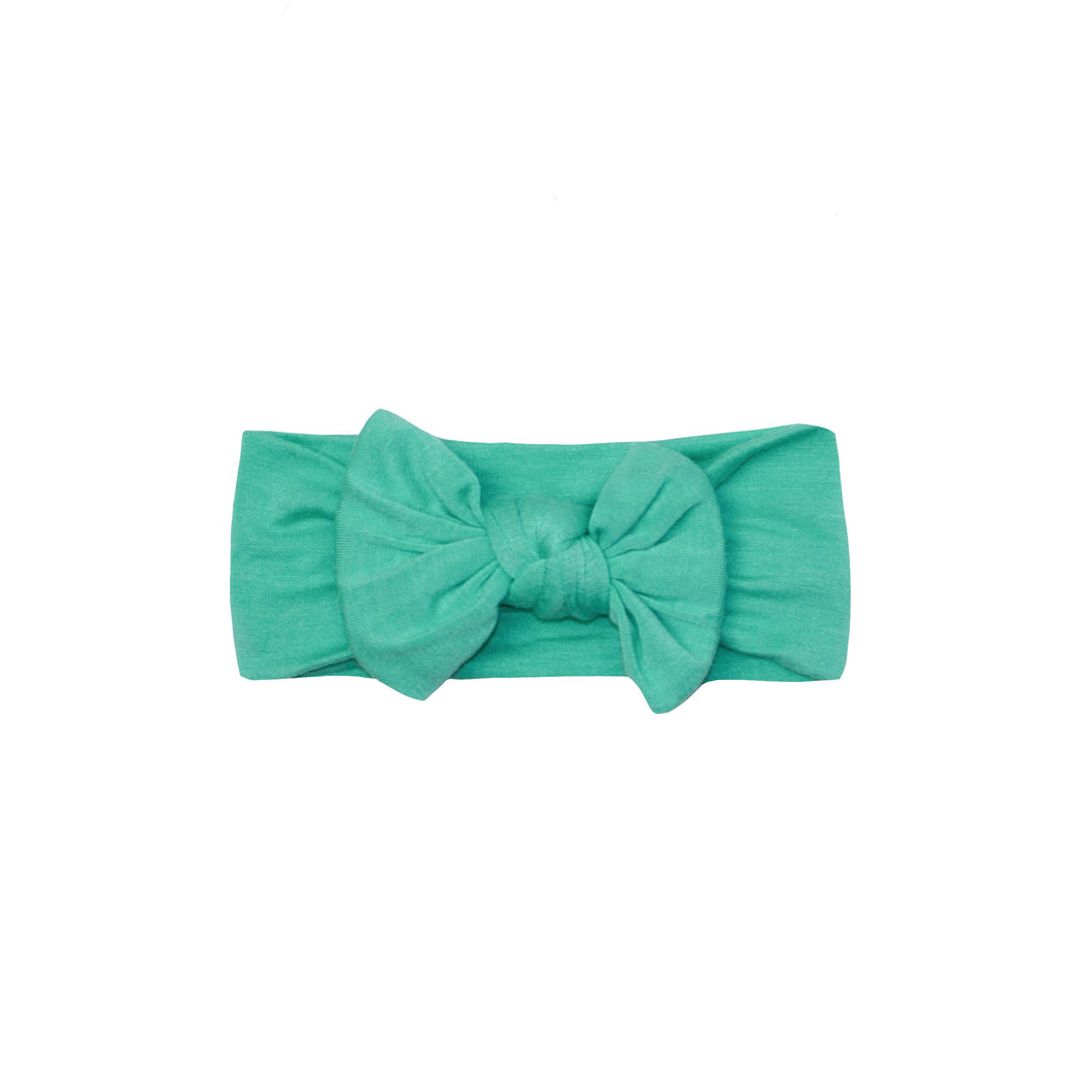 Bow Headband - Spring Green