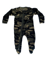 Load image into Gallery viewer, 2 Way Zip Romper - Camo