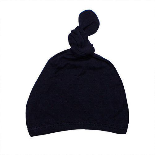 Top Knot Hat - Dark Navy