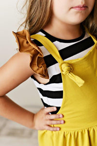 Knot Pinafore - Goldenrod
