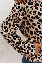 Load image into Gallery viewer, Long Sleeve Double Ruffle - Leopard