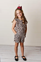 Load image into Gallery viewer, Ruffle Romper - Leopard