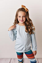 Load image into Gallery viewer, Chambrae Ruffle Long Sleeve