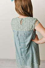 Load image into Gallery viewer, Lace Dress - Sage