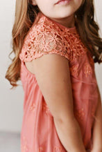Load image into Gallery viewer, Lace Dress - Coral