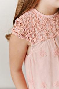 Lace Dress - Cherry Blossom