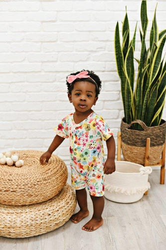 Baby Romper - Bright Floral