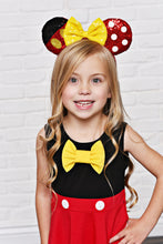 Load image into Gallery viewer, Boy Mouse (Yellow Bow) Dress