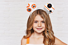 Load image into Gallery viewer, Orange Robot Ears