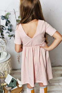 Rose Gold Twirl Dress