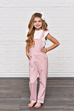 Load image into Gallery viewer, Dusty Rose - Ruffle Pocket Jumpsuits