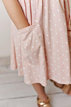 Load image into Gallery viewer, Pink Hearts Twirl Dress