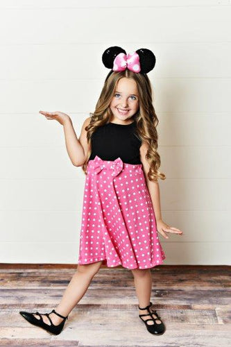 Pink Girl Mouse Dress