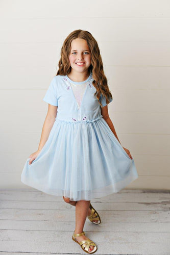 Tulle Dress - Ice Queen