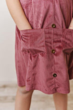 Load image into Gallery viewer, Mauve Corduroy Dress