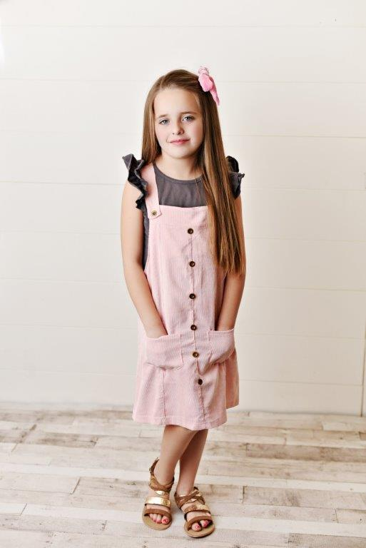 Blush Corduroy Dress