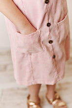 Load image into Gallery viewer, Blush Corduroy Dress