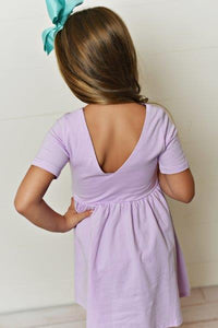 Orchid Twirl Dress