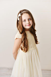 Ivory - Sequin Twirl Dress