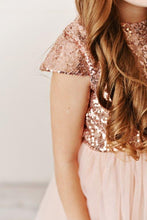Load image into Gallery viewer, Pink - Sequin Twirl Dress