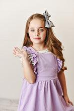 Load image into Gallery viewer, Ruffle Pinafore - Lavender