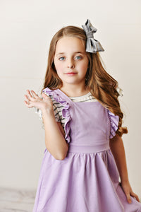 Softest Pinafore - Lavender