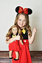 "Load image into Gallery viewer, 18"" Doll - Boy Mouse Dress"