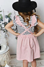 Load image into Gallery viewer, Ruffle Pinafore - Dusty Rose