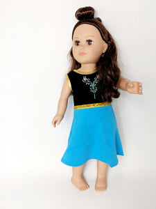 "18"" Doll - Sister - Ice Princess Dress"