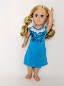 "18"" Doll - Ice Queen Dress"