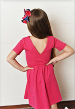 Load image into Gallery viewer, Pink Twirl Dress