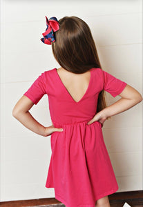 Pink Twirl Dress