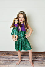 "Load image into Gallery viewer, 18"" Doll - Under the Sea Dress"