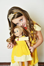 "Load image into Gallery viewer, 18"" Doll - Name Means Beauty Dress"