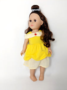 "18"" Doll - Name Means Beauty Dress"
