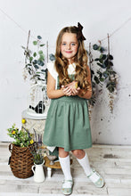 Load image into Gallery viewer, Softest Pinafore - Sage