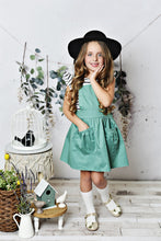 Load image into Gallery viewer, Scarlett Pinafore - Sage Green