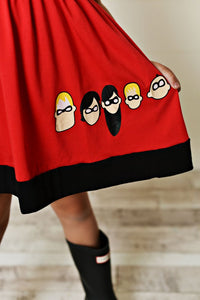Final Sale -  Super Hero Dress