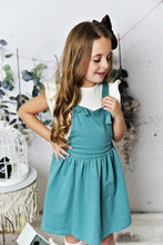 Load image into Gallery viewer, Softest Pinafore - Teal