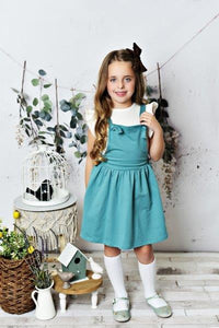 Softest Pinafore - Teal