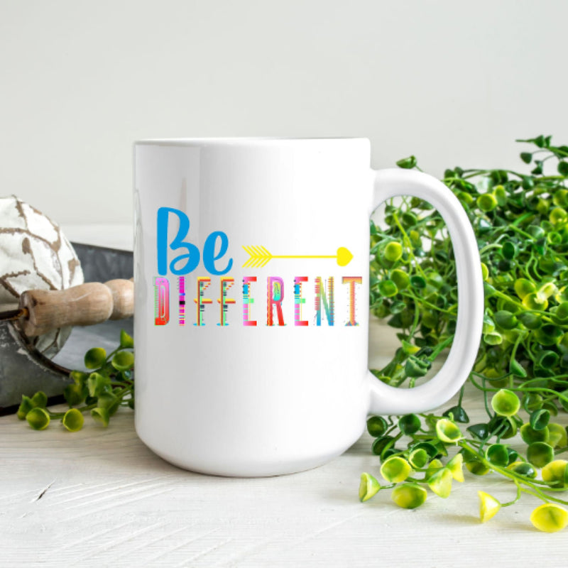 Coffee Mug- Be Different Mug Sublimation Mug Supportive Mug - All Products