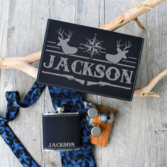 Flask Gift Box- Flask Gift Set for Him - All Products