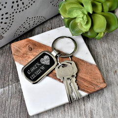 Key Chain-Custom Coordinates - All Products