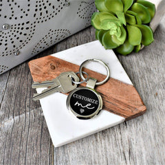 Key Chain- Custom design key ring- Personalized keychain - All Products
