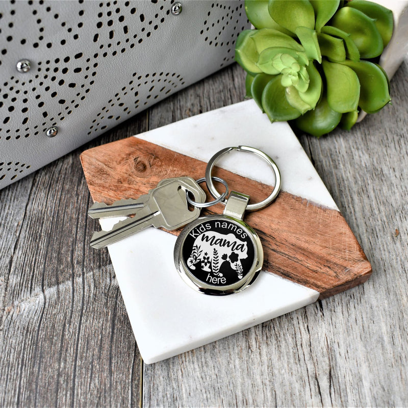 Key Chain- Mama Bear Keychain - All Products
