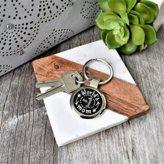 Key Chain- Worlds Number 1 Mom - All Products