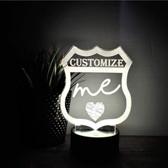 Night Light- Custom LED Night Light - All Products
