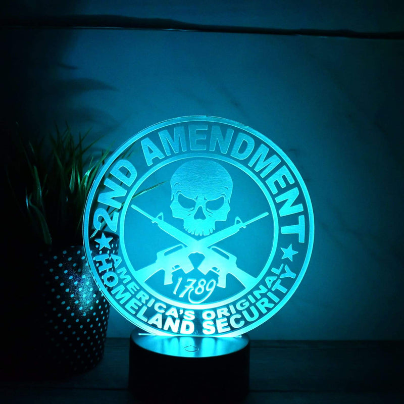 Night Light - LED Light - 2nd Amendment - Second Amendment - All Products