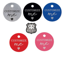 Pet ID Tags - Laser Engraved Aluminum - All Products